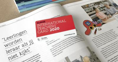Haal je lerarenkaart 2020 van Klasse bij je cultuurhuis